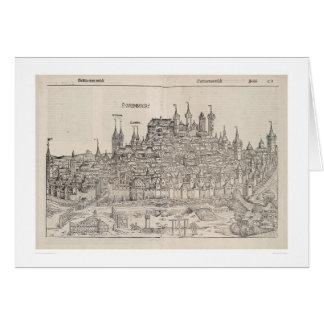 Ansicht von Nürnberg von Nürnberg-Chronik (1458) Karte
