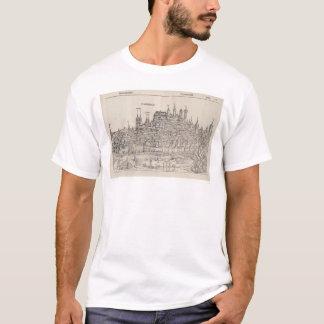 Ansicht von Nürnberg von Nürnberg-Chronik (1458) T-Shirt