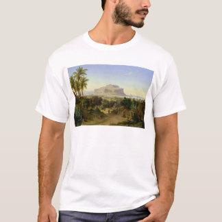 Ansicht von Palermo mit Berg Pellegrino T-Shirt