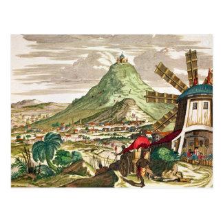Ansicht von Potosi in Bolivien Postkarte
