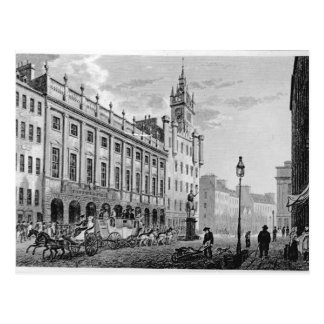 Ansicht von Rathaus, Austausch, Glasgow Postkarte