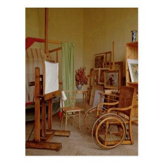 Ansicht von Renoirs Studio, ab 1907 verwendet Postkarte