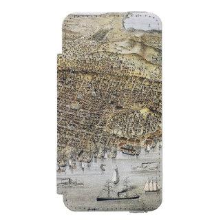 Ansicht von San Francisco, 1878 Incipio Watson™ iPhone 5 Geldbörsen Hülle