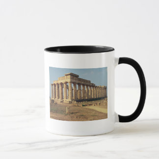Ansicht von Tempel E, c.490-480 BC Tasse