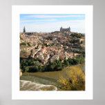 Ansicht von Toledo Plakatdrucke