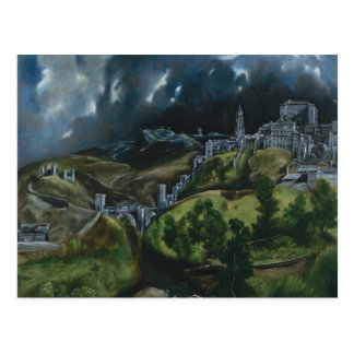 Ansicht von Toledo Postkarte