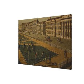Ansicht von Wilhelmsplatz vom Norden, 1773 Galerie Gefaltete Leinwand