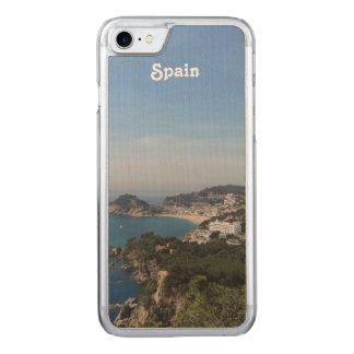 Ansichten der spanischen Küste Carved iPhone 8/7 Hülle