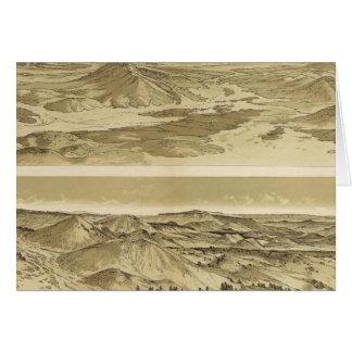 Ansichten vom Berg Trumbull und vom Berg Emma Karte