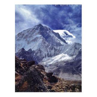 Ansichten von Nepal auf Weise zum MOUNT EVEREST Postkarte