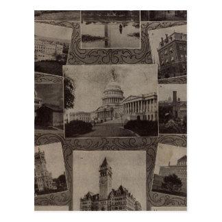 Ansichten Washington, DC Postkarte