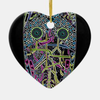 Anstarren Keramik Herz-Ornament
