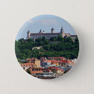 Ansteck Button Würzburg Festung Marienberg