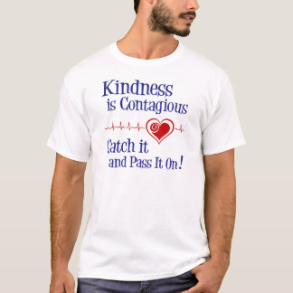 Ansteckend, Marineblau T-Shirt