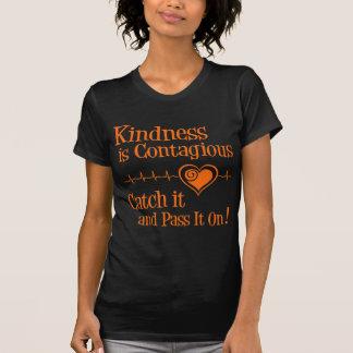 Ansteckend, orange T-Shirt
