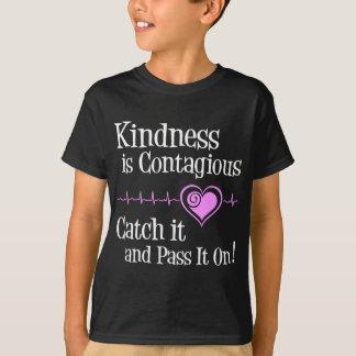 Ansteckend, weiß T-Shirt