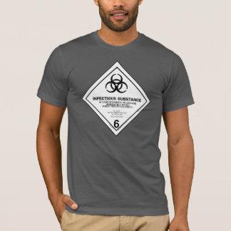 Ansteckendes Substanz-Shirt T-Shirt