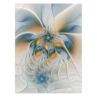 Ansteigen, abstrakte Fantasie-Fraktal-Kunst mit Tischdecke