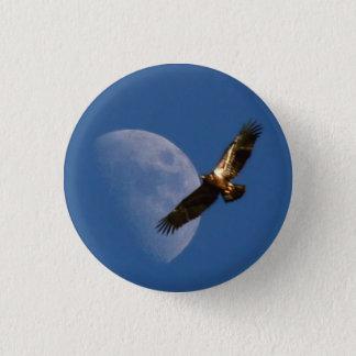 Ansteigender Eagle-Knopf Runder Button 3,2 Cm