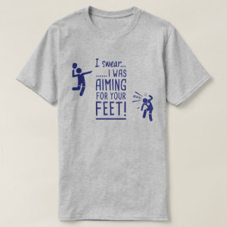 """""""Anstrebend Ihre Füße"""" lustiges Pickleball Shirt"""