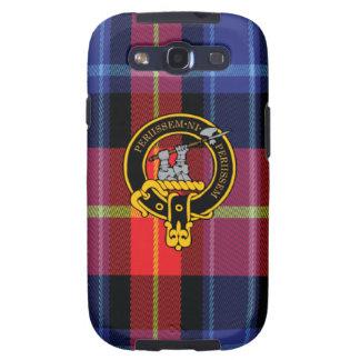 Anstruther schottisches Wappen und Tartan S3 rufen Galaxy SIII Etui