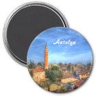 Antalya Runder Magnet 7,6 Cm