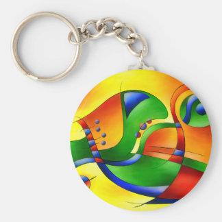 Antaressa - bunte Welt Schlüsselanhänger