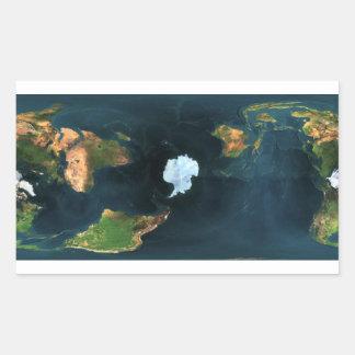 Antarktis Antarctica Rechteckiger Aufkleber