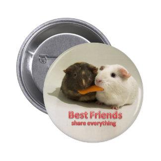 Anteil der besten Freunde alles Runder Button 5,1 Cm