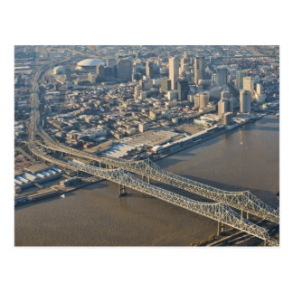 Antenne New Orleans in die Stadt Postkarte