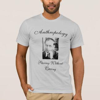 Anthropologie: Außen anstarren kümmerte sich T-Shirt