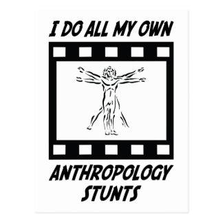 Anthropologie-Bremsungen Postkarte