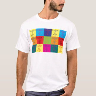 Anthropologie-Pop-Kunst T-Shirt