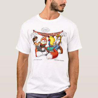 Anthropomorphe Vixen-Therapie T-Shirt