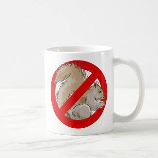 Anti-Eichhörnchen Kaffeetasse
