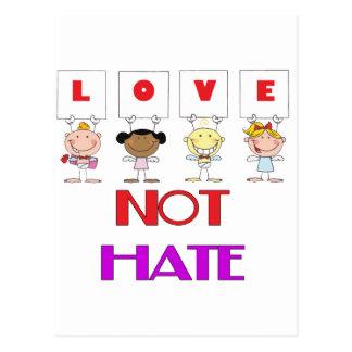 Anti-Einschüchterung Postkarte