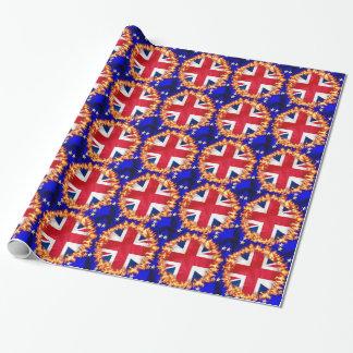 Anti-EU Brexit Symbol Geschenkpapier