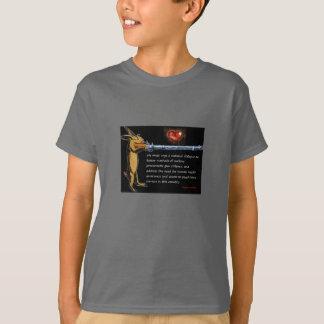 Anti-Gewehr Gewalt - hören Sie zum Häschen T-Shirt