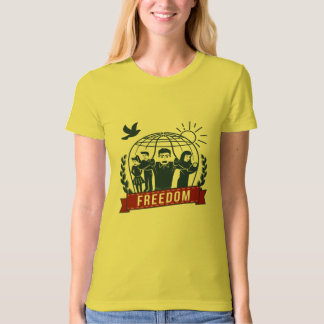ANTI-GLOBALISM/FREEDOM - England, USA T-Shirt