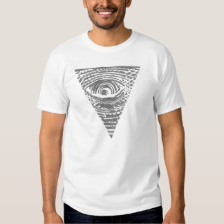 Anti-Illuminati umgekehrter Pyramide-T - Shirt