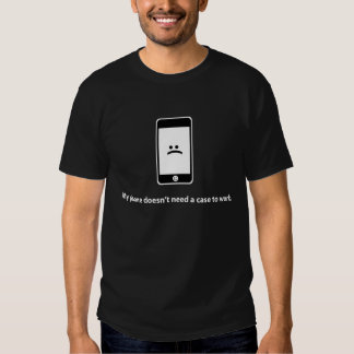 Anti-iPhone Shirt (dunkel)