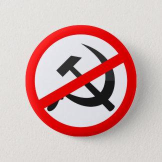 Anti-Kommunismus Runder Button 5,1 Cm