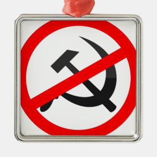 Anti-Kommunismus Silbernes Ornament
