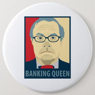 Anti-Krach Frank-Bankwesen-Königin Runder Button 15,3 Cm