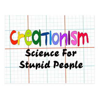 Anti-Kreationismus Postkarten