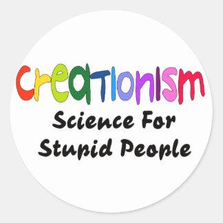Anti-Kreationismus Runder Aufkleber
