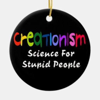 Anti-Kreationismus Rundes Keramik Ornament