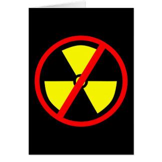 Anti-Nukleares Symbol Karte