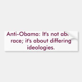 Anti-Obama-Autoaufkleber Autoaufkleber