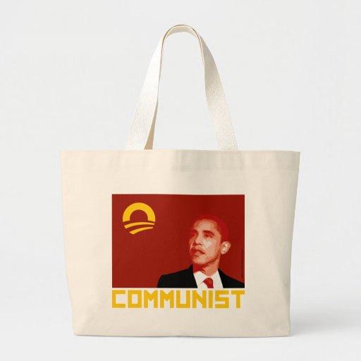 Anti-Obama: Barack Obama Kommunist Taschen